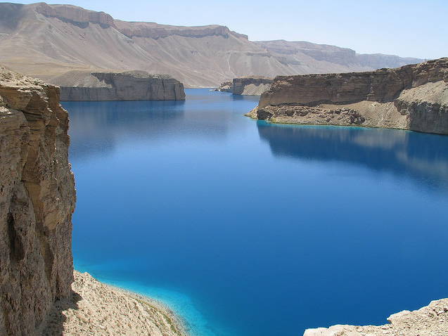 lake in Central Highlands of Afghanistan