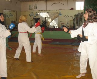 The Herat Karate Team