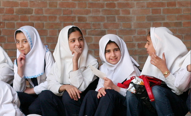 iranian school girls