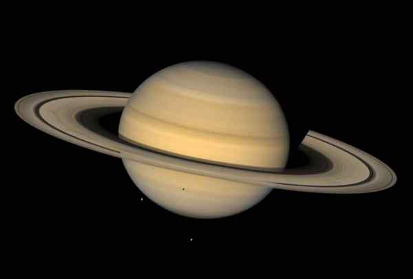 real saturn planet