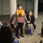 Jessica DeBruin performing The Traffic Policewoman of Herat by Zahra M.