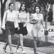 three Kabul women in the 1970s