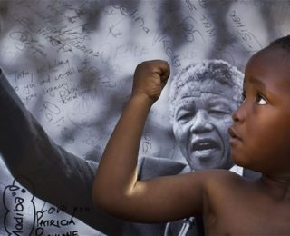 Nelson Mandela, an Inspirational Hero