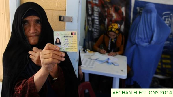 elderly voter in herat