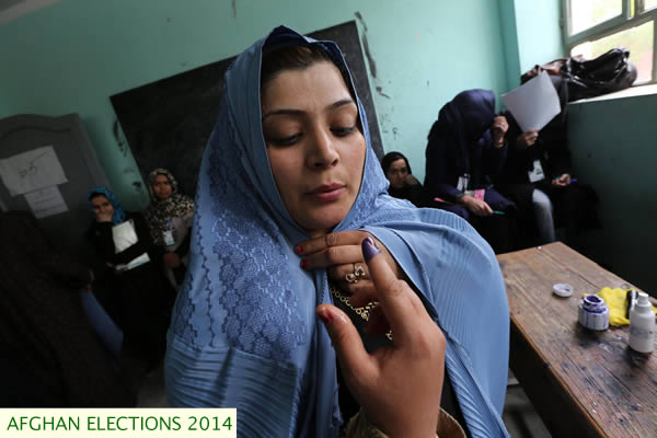 election ink in herat