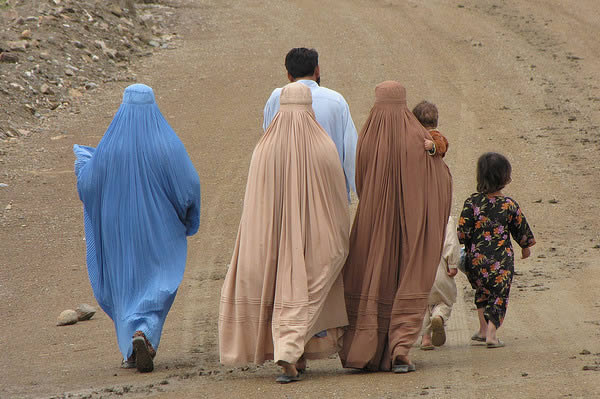 afghan-family-walking-away