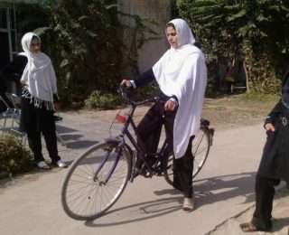 Biking on the Streets of Kabul