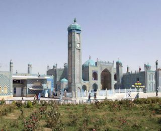 Bringing in the New Year in Mazar-e-Sharif