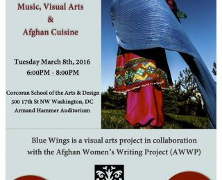 Celebrate #IWD2016 with Afghan Women's Poetry, Music, Art, and Food in Washington, DC!