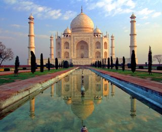 Like Painting with Watercolors under Rain: Visiting India