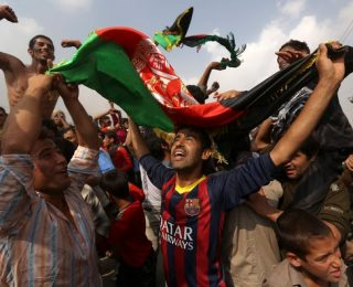Football Victory Brings Afghans Full Circle from 9-11