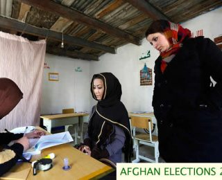 Registering Voters in the Northern Villages
