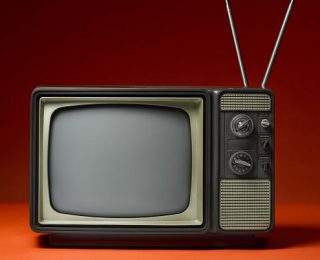 Our Black and White TV
