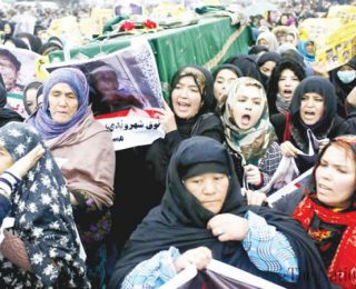 Afghans Want Justice All Over Our Country